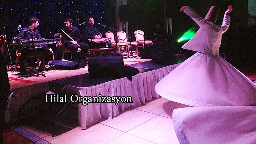 semazen grubu dini düğün organizasyonu 1000 tl