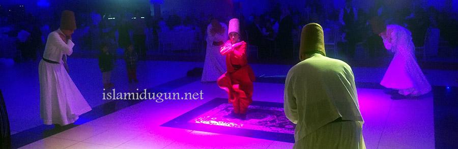 dini düğün semazenler ve ilahi grubu