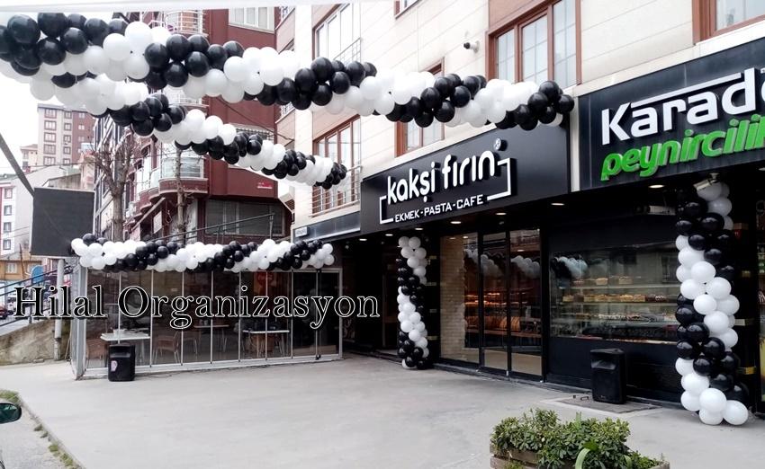 zincir balon süsleme açılış organizasyon