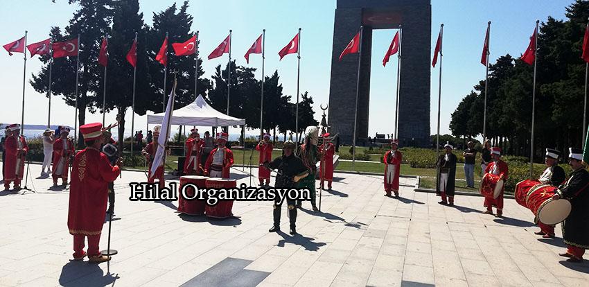 mehter takımı Çanakkale programı