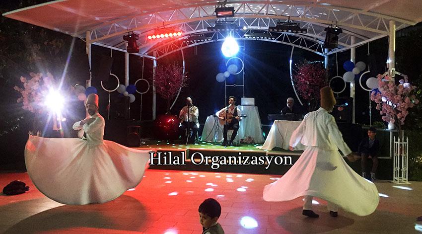 semazen grubu ile islami düğün organizasyonu