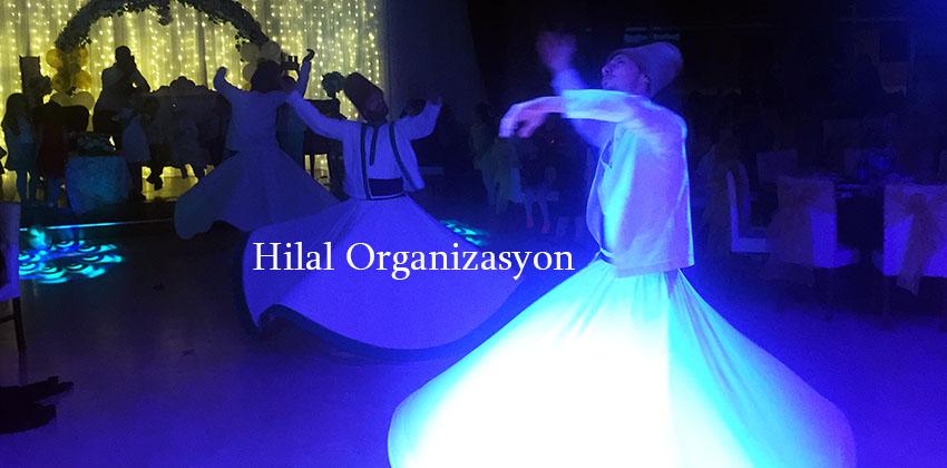 semazen ekibi ile islami düğün organizasyonu